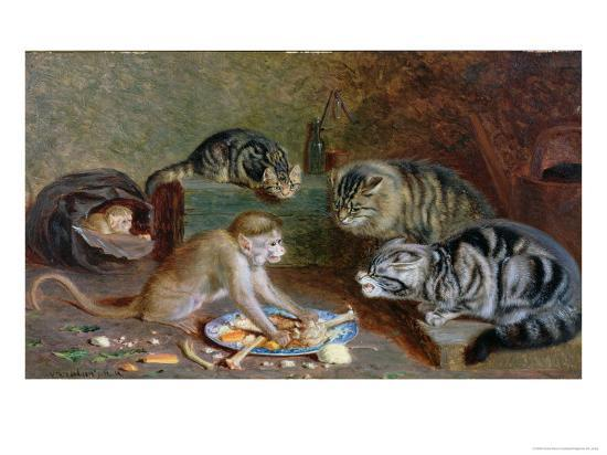 Game For Dinner-Horatio Henry Couldery-Giclee Print