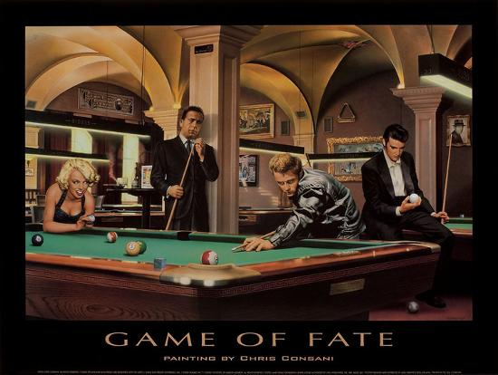 Game of Fate-Chris Consani-Art Print