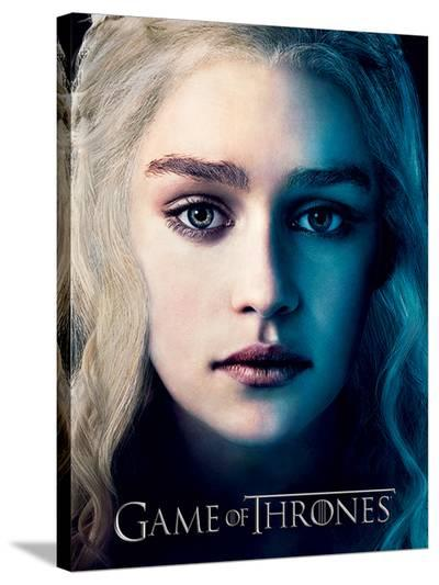 Game Of Thrones (Season 3 - Daenrys) --Stretched Canvas Print
