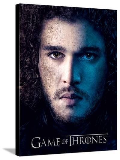 Game Of Thrones (Season 3 - Jon) --Stretched Canvas Print
