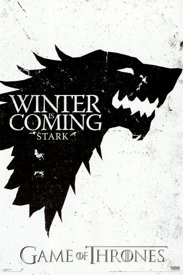 Game of Thrones - Winter is Coming - House Stark--Poster