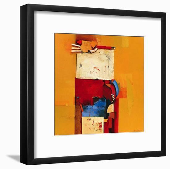 Game Over-Theo Den Boon-Framed Art Print