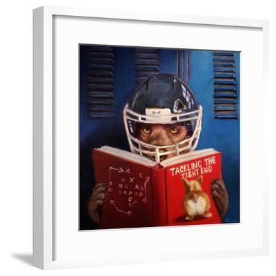 Game Plan No. 2-Lucia Heffernan-Framed Premium Giclee Print