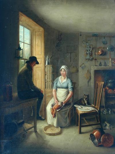 Gamekeeper and Cook-Sir David Wilkie-Giclee Print