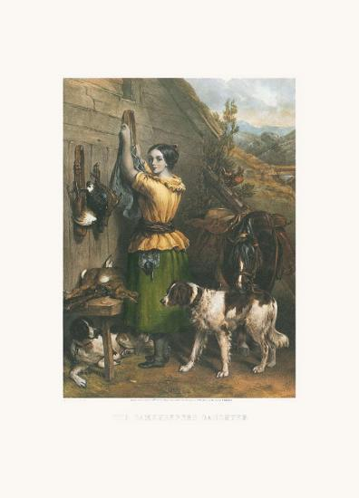 Gamekeeper's Daughter-Frankin Taylor-Art Print