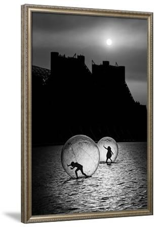 Games in a Bubble--Framed Art Print