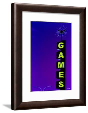 Games-Pascal Normand-Framed Art Print