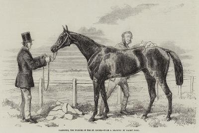 Gamester, the Winner of the St Leger-Harry Hall-Giclee Print