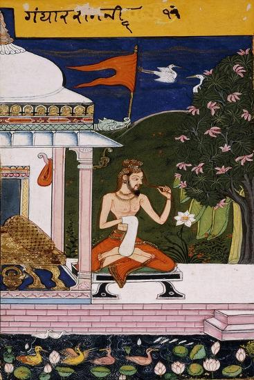 Gandarah (Devganhar) Ragini, C.1660--Giclee Print
