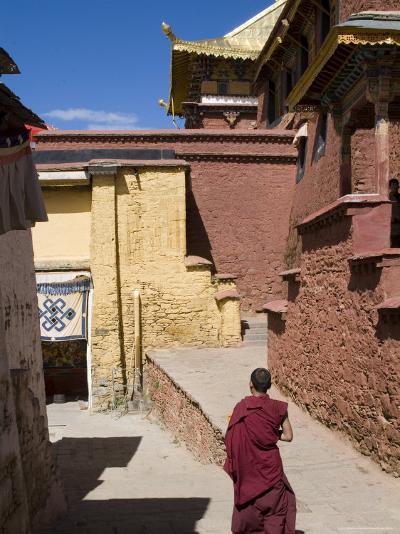 Ganden Monastery, Near Lhasa, Tibet, China-Ethel Davies-Photographic Print