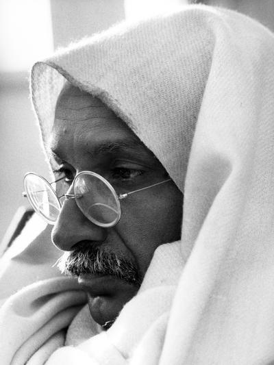 Gandhi, Ben Kingsley, (As Gandhi), 1982--Photo