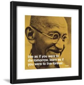 Gandhi: Live and Learn