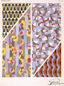Plate 18, from 'Inspirations', Published Paris, 1930S (Colour Litho) by Gandy
