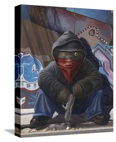 Gangsta Teddy-Preston Craig-Stretched Canvas Print