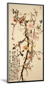 Ten Spring Flowers by Gao Qifeng