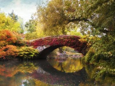Gapstow Bridge-Jessica Jenney-Giclee Print