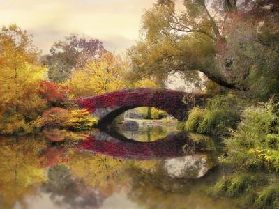 Gapstow in the Park-Jessica Jenney-Giclee Print