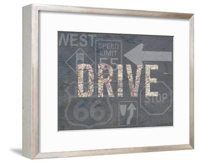 Garage Sign II-Studio W-Framed Art Print
