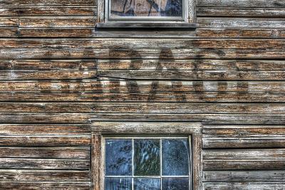 Garage Wall Sign-Robert Goldwitz-Photographic Print