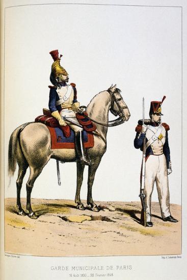 Garde Municipale De Paris-Francois Cudet-Giclee Print