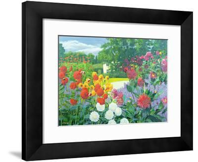 Garden and House-William Ireland-Framed Giclee Print