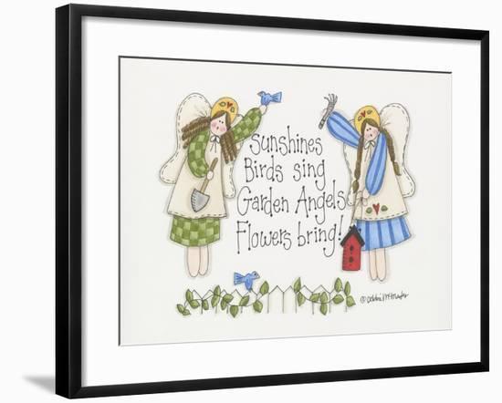 Garden Angels-Debbie McMaster-Framed Giclee Print