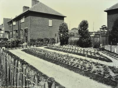 Garden at 187 Valence Wood Road, Becontree Estate, Ilford, London, 1929--Photographic Print
