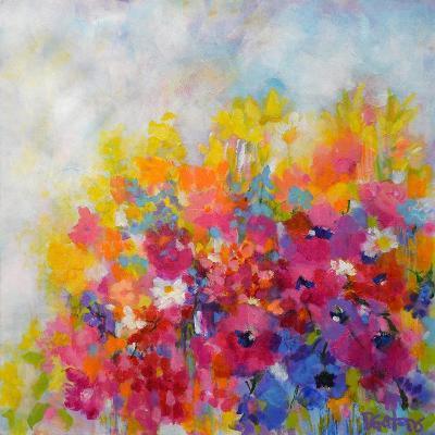 Garden at Millefiori-Pamela Gatens-Art Print