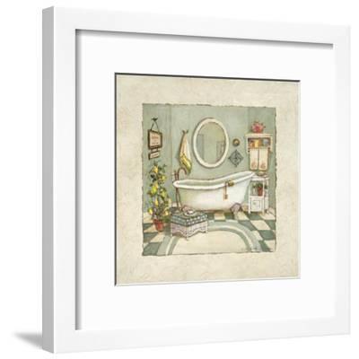 Garden Bath I-Charlene Winter Olson-Framed Art Print