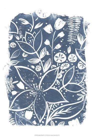 Garden Batik II-June Erica Vess-Art Print
