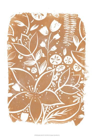 Garden Batik VI-June Erica Vess-Art Print