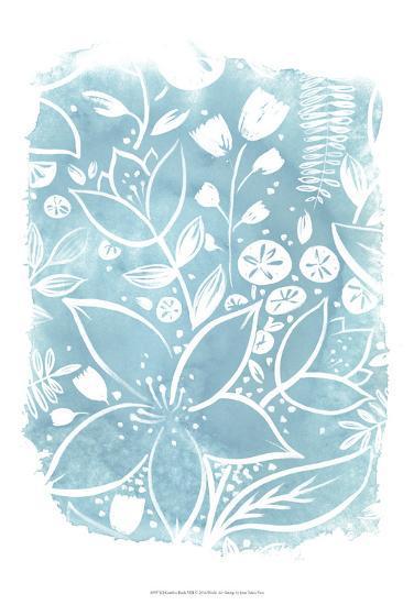 Garden Batik VIII-June Erica Vess-Art Print