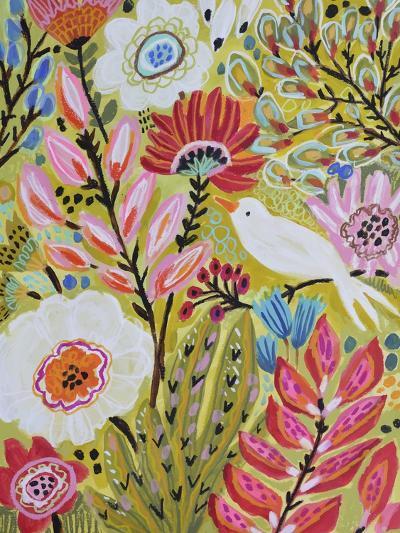 Garden Birds II-Karen  Fields-Art Print