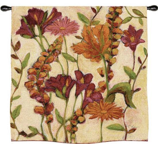 Garden Blooms-Claire Learner-Wall Tapestry