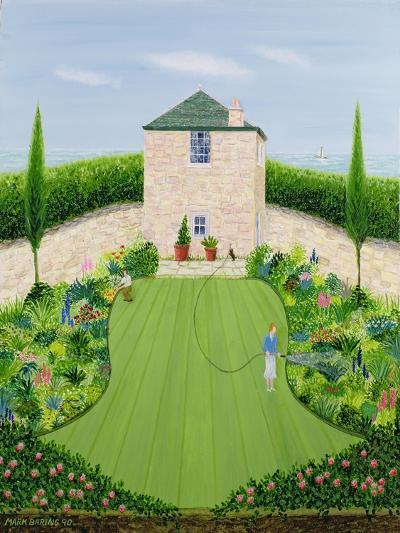 Garden by the Sea-Mark Baring-Giclee Print