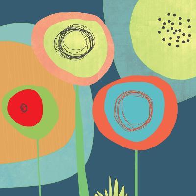 Garden Circles-Jan Weiss-Art Print