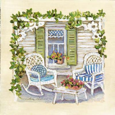 Garden Club I-Charlene Winter Olson-Art Print