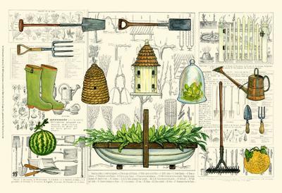 Garden Collection I-Ginny Joyner-Art Print