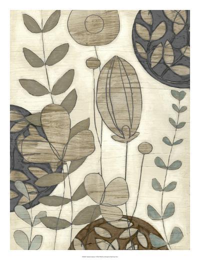 Garden Contours I-Erica J^ Vess-Giclee Print