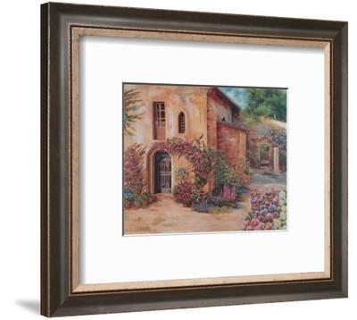 Garden Corner-Cathy Groulx-Framed Art Print