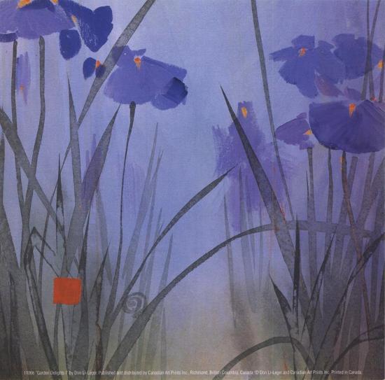 Garden Delights I-Don Li-Leger-Art Print