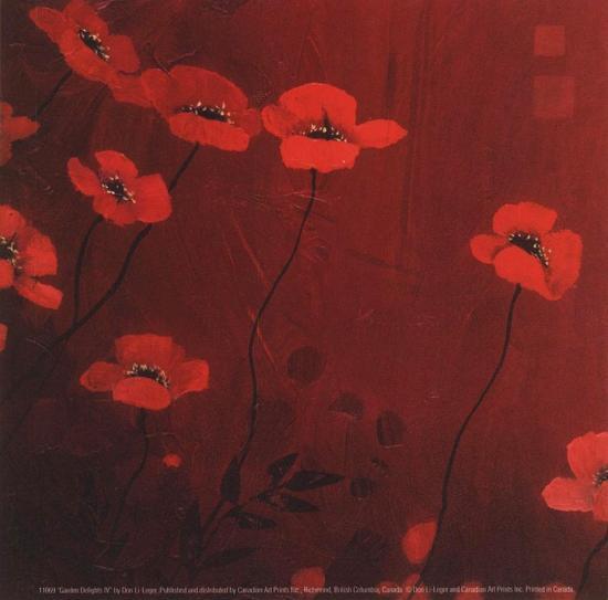 Garden Delights IV-Don Li-Leger-Art Print
