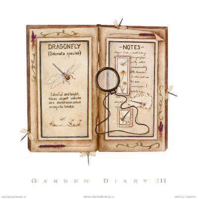 Garden Diary III-Rebecca Lach-Art Print