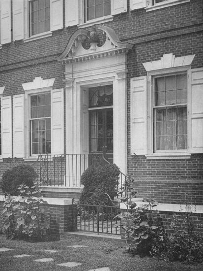 Garden entrance to the house of Miss Anne Morgan, New York City, 1924-Unknown-Photographic Print