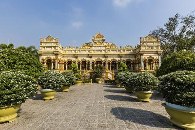 Garden Entrance to the Vinh Trang Pagoda, My Tho, Vietnam, Indochina, Southeast Asia, Asia-Michael Nolan-Photographic Print