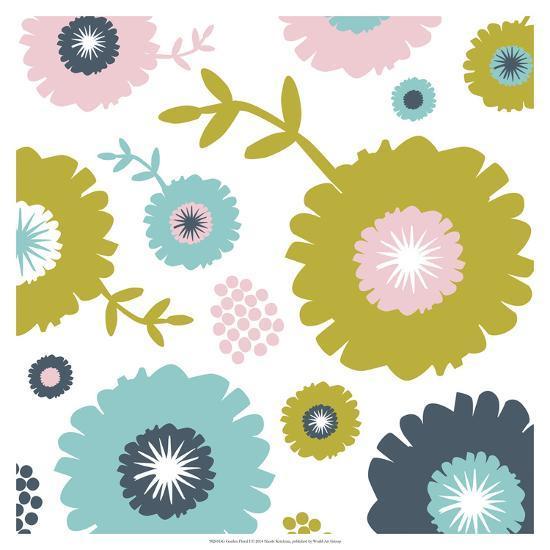 Garden Floral I-Nicole Ketchum-Art Print