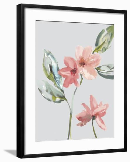 Garden Florals I-Sandra Jacobs-Framed Giclee Print