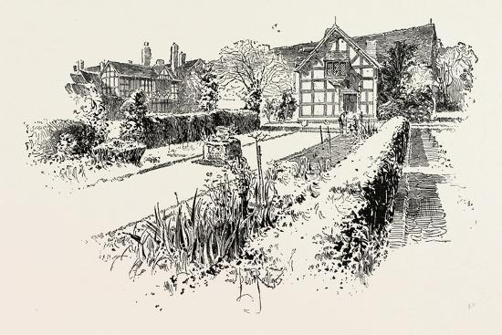 Garden Front of the House in Which Shakespeare Was Born--Giclee Print