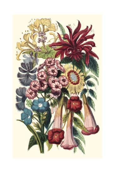 Garden Gathering I--Art Print
