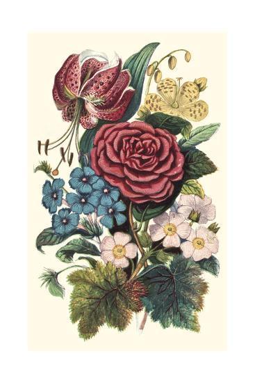 Garden Gathering III--Art Print